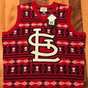 St. Louis Cardinals Ugly Christmas Sweater Vest